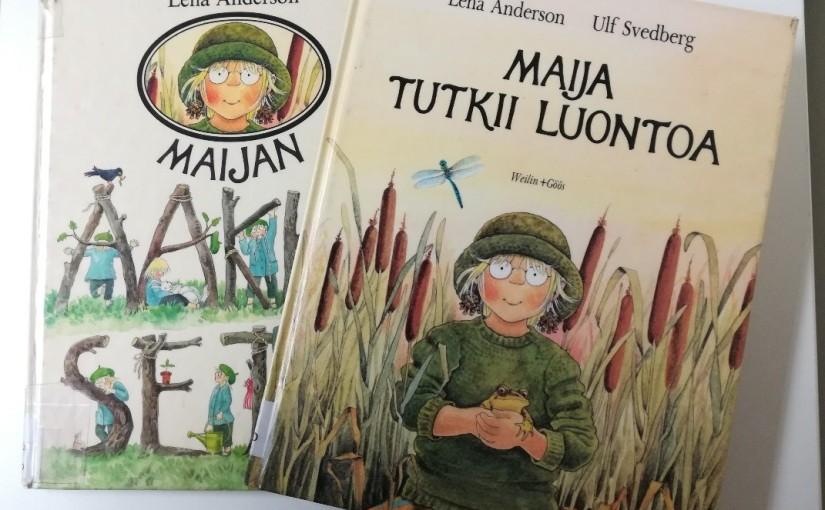Maija-kirjat 1980-luvulta